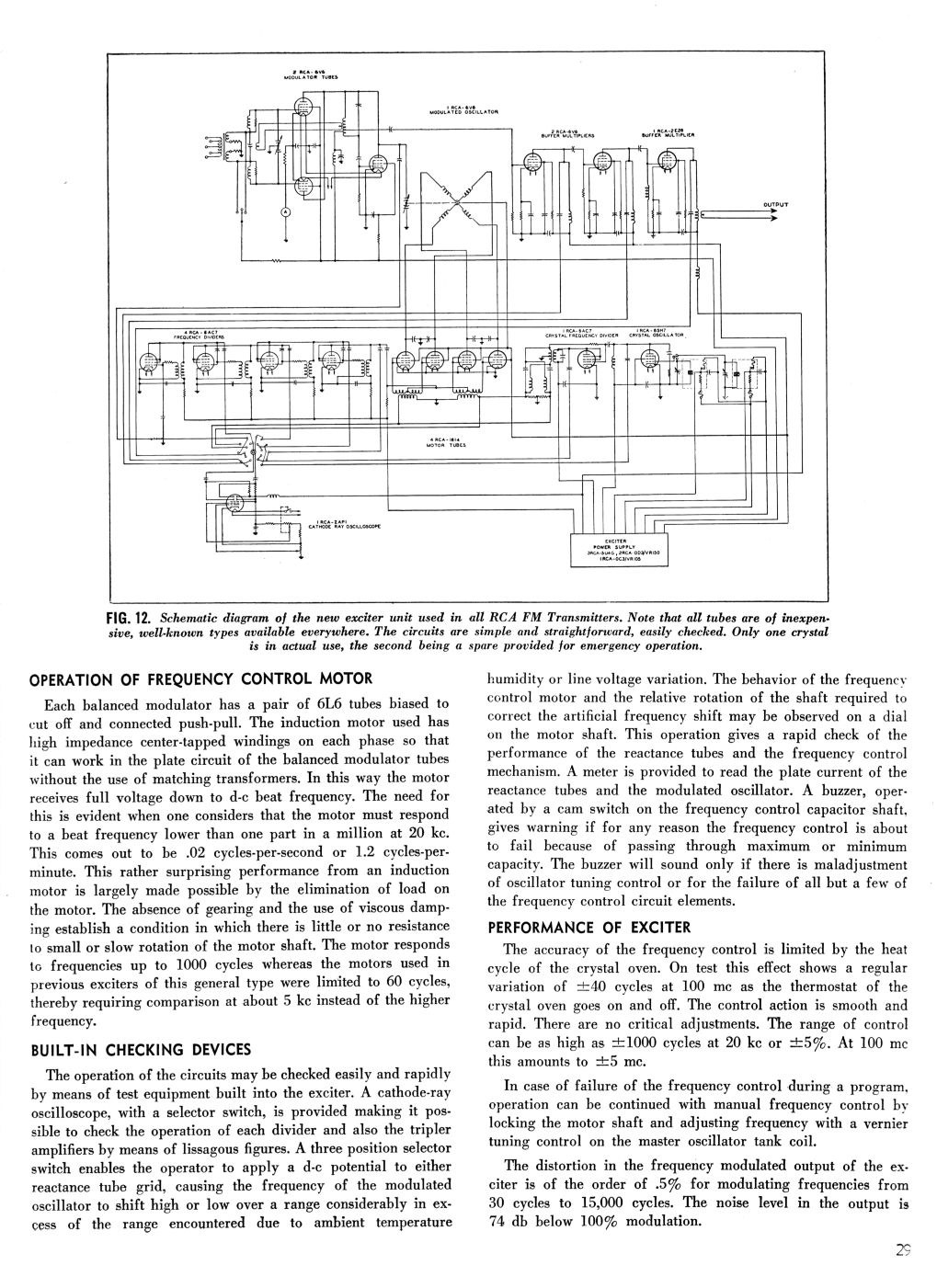 RCA MI-7015 Direct FM Exciter, page 6