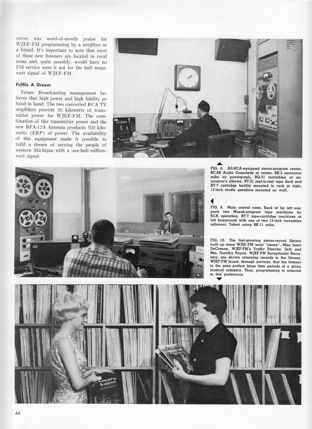 WJEF-FM...Stereo Half-Million-Watts, page 5
