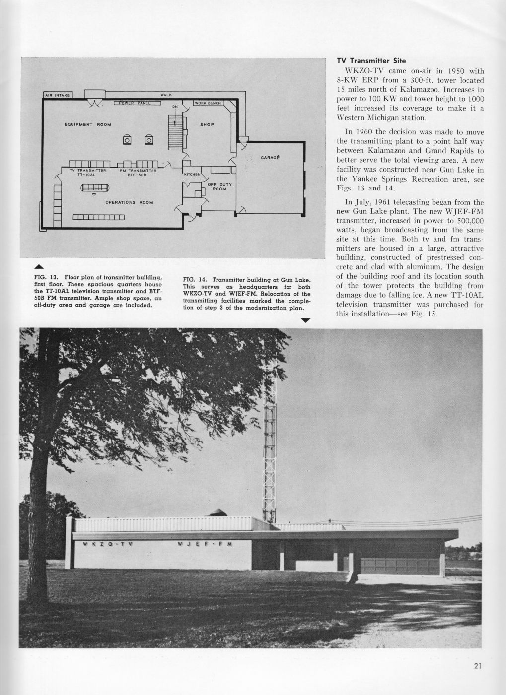 WJEF-FM Transmitter Site, page 1