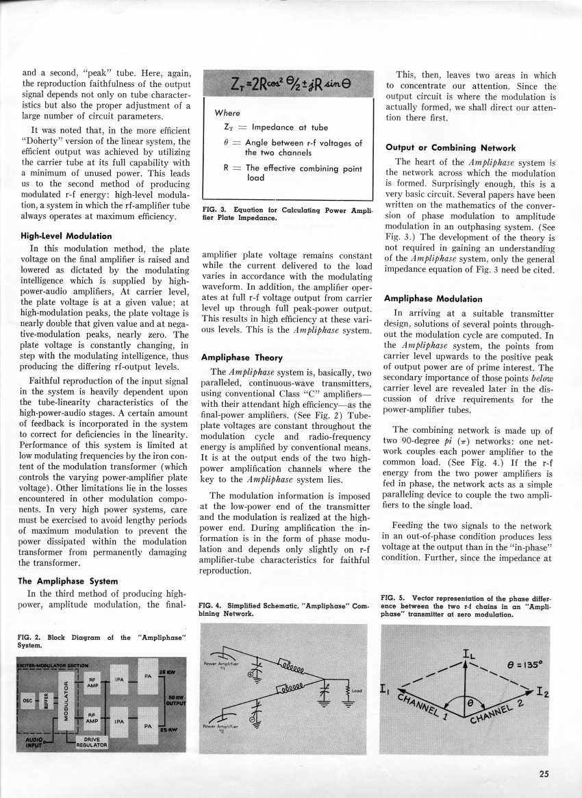 Ampliphase ... For Economical Super-Power AM Transmitters, page 2
