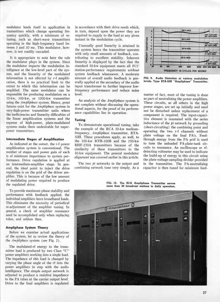 Ampliphase ... For Economical Super-Power AM Transmitters, page 4