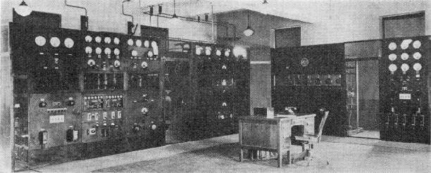 Photo of the RCA 50B Transmitter
