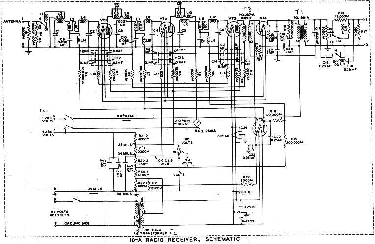Band P TRF Radio Schematics Trf Radio Schematics on crystal radio schematic, transistor radio schematic, am radio circuit schematic,