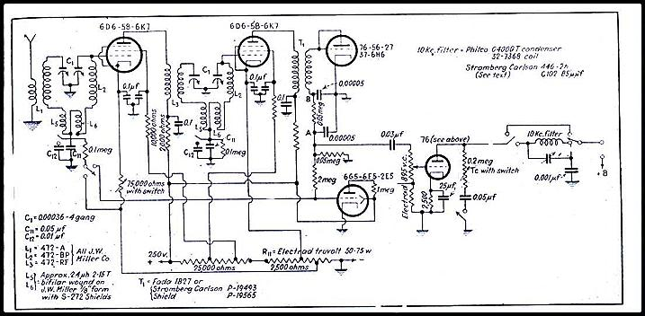 Emerson 507 Chassis 120005 September 1947 Radio News as well Index further Links also Transmitter Tube in addition . on am radio schematics