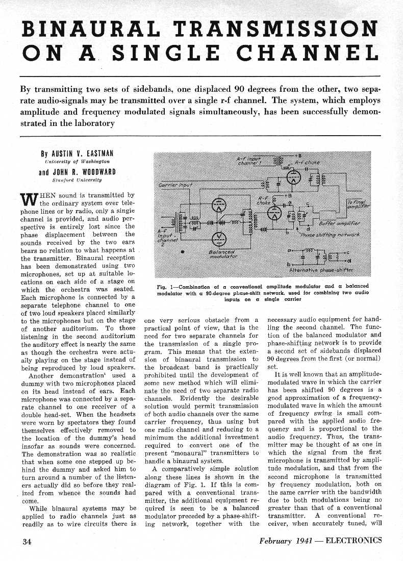 1st page of 1941 Article